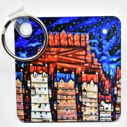 Key Rings - theClassic: Auld Reekie Moon