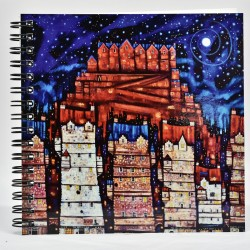 Wiro Notebook: Auld Reekie Moon