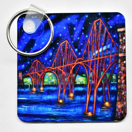 Key Ring - theClassics: Forth Road Bridge