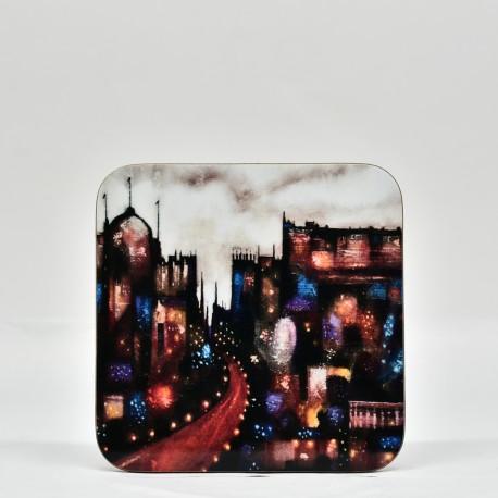 Coaster - theClassics: Abstract Edinburgh A