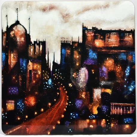 Placemat - theClassics: Abstract Edinburgh A