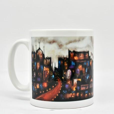 Classic Mug - theClassics: Abstract Edinburgh
