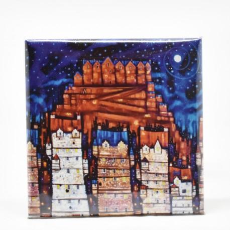 Fridge Magnets - theClassics: Auld Reekie Moon