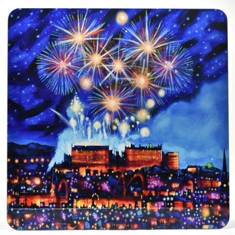 Placemat - Edinburgh Fireworks