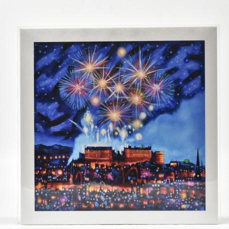 Small Print - Edinburgh Fireworks
