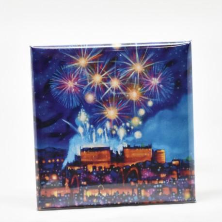 Fridge Magnets - Edinburgh Fireworks