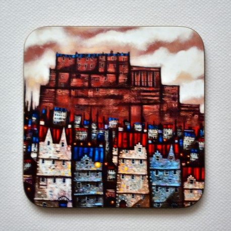 Coaster: Auld Edinburgh Town A