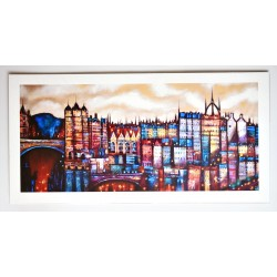 Long Print: Auld Town View