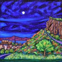 Large Print: Arthur's Seat Moon