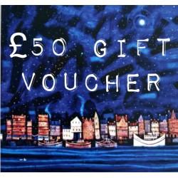 Vouchers: £50 Gift Voucher