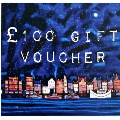 Vouchers: £100 Gift Voucher