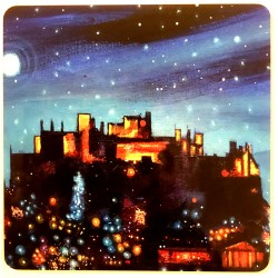 Placemat: Edinburgh Lights A