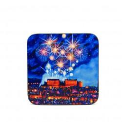 Coaster: Edinburgh Fireworks