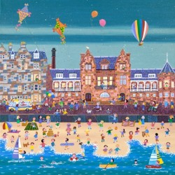 Large Print by Lynn Hanley: Happy Days, Portobello
