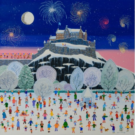 Large Print by Lynn Hanley: Winter Castle