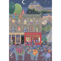 Large Print by Lynn Hanley: The Elephant House