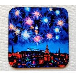 Coaster: Auld Town Fireworks