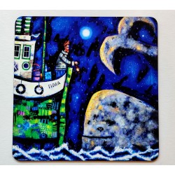 Placemats: Moonlight Meeting