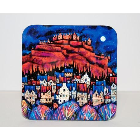 Coaster: Auld Edinburgh Rooftops