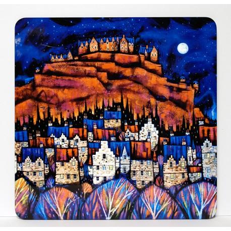 Placemat: Auld Edinburgh Rooftops
