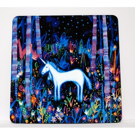 Placemats: Unicorn Forest