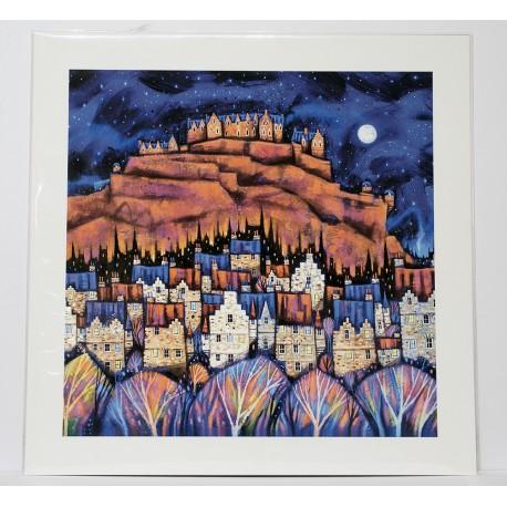 Medium Prints: Auld Edinburgh Rooftops