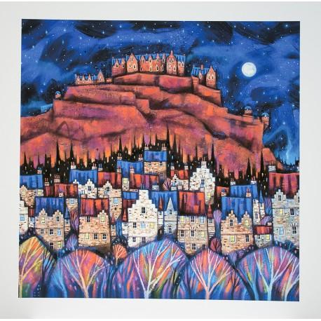 Large Print: Auld Edinburgh Rooftops
